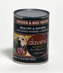 Dave's Pet Food Healthy & Natural Chicken & Rice Recipe 13.2oz
