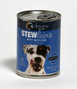 Dave's Pet Food Stewlicious Meaty Beef Stew 13.2oz
