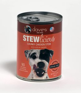 Dave's Pet Food Stewlicious Chunky Chicken Stew 13oz
