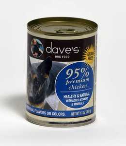 Dave's Pet Food 95% Premium Chicken 13oz