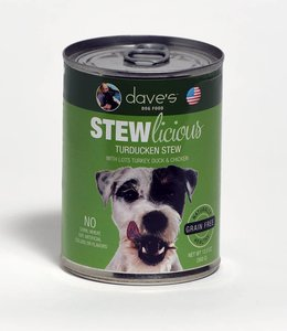 Dave's Pet Food Stewlicious Turducken Stew 13oz