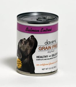 Dave's Pet Food Salmon Entree' Grain-Free 13oz