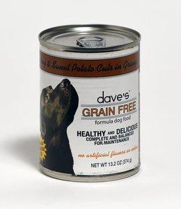Dave's Pet Food Turkey & Sweet Potato Cuts in Gravy 13.2oz