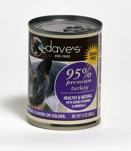 Dave's Pet Food 95% Premium Turkey 13oz