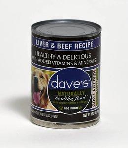 Dave's Pet Food Healthy & Delicious Liver & Beef Recipe 13.2oz