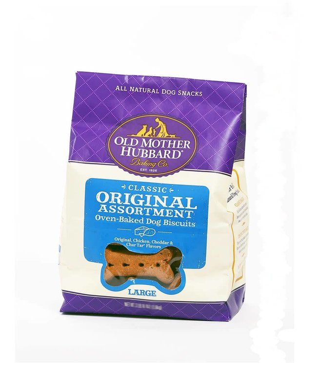 Old Mother Hubbard Classic Original Assortment Oven-Baked Dog Biscuits Small 3lbs