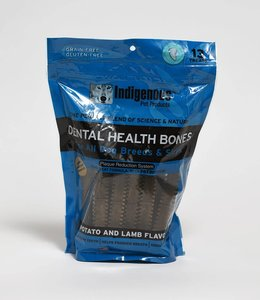 Indigenous Pet Products Dental Health Bones Potato & Lamb 17oz