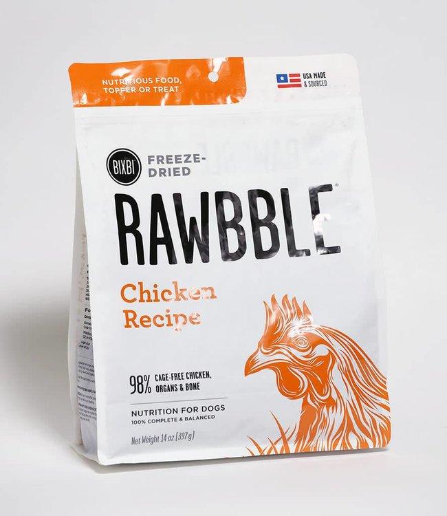 Bixbi Freeze-Dried Rawbble Chicken Recipe 30oz