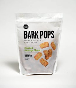 Bixbi Bark Pops Smoked Sausage Flavor 100 Treats 4oz