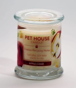 One Fur All Pet House Candle Apple Cider