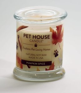 One Fur All Pet House Candle Pumpkin Spice