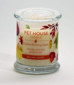One Fur All Pet House Candle Falling Leaves