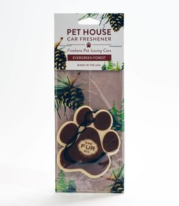 One Fur All Pet House Car Freshener Evergreen Forest