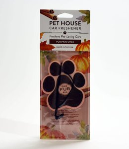 One Fur All Pet House Car Freshener Pumpkin Spice
