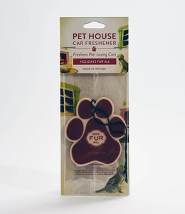 One Fur All Pet House Car Freshener Holidays Fur All