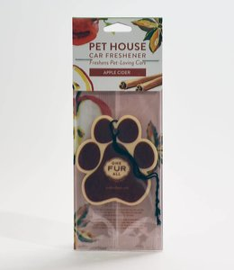 One Fur All Pet House Car Freshener Apple Cider