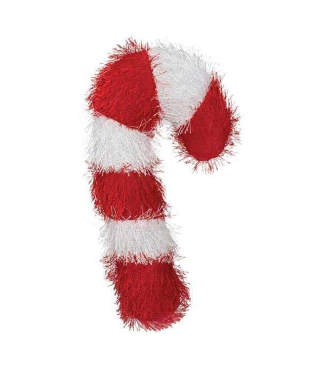 Holiday Fuzzle Candy Cane Toy