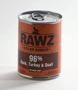 Rawz 96% Duck, Turkey & Quail 12.5oz
