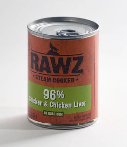 Rawz 96% Chicken & Chicken Liver 12.5oz