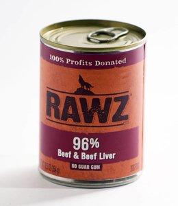 Rawz Beef & Beef Liver 12.5oz