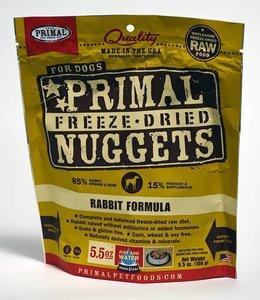 Primal Dog Freeze-Dried Rabbit Nuggets 14oz