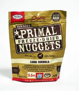 Primal Dog Freeze-Dried Lamb Nuggets 14oz