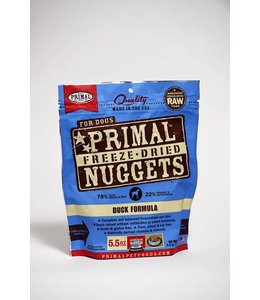 Primal Dog Freeze-Dried Duck Nuggets 5.5oz