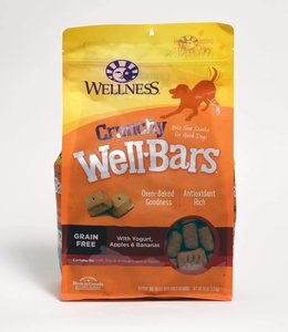 Wellness Crunchy WellBars Yogurt, Apples & Bananas 20oz