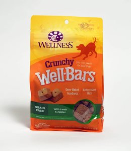 Wellness Crunchy WellBars Lamb & Apple 20oz