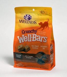 Wellness Crunchy WellBars Peanuts & Honey 20oz