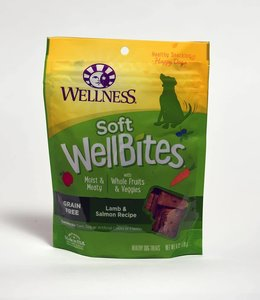Wellness Soft WellBites Lamb & Salmon 6oz