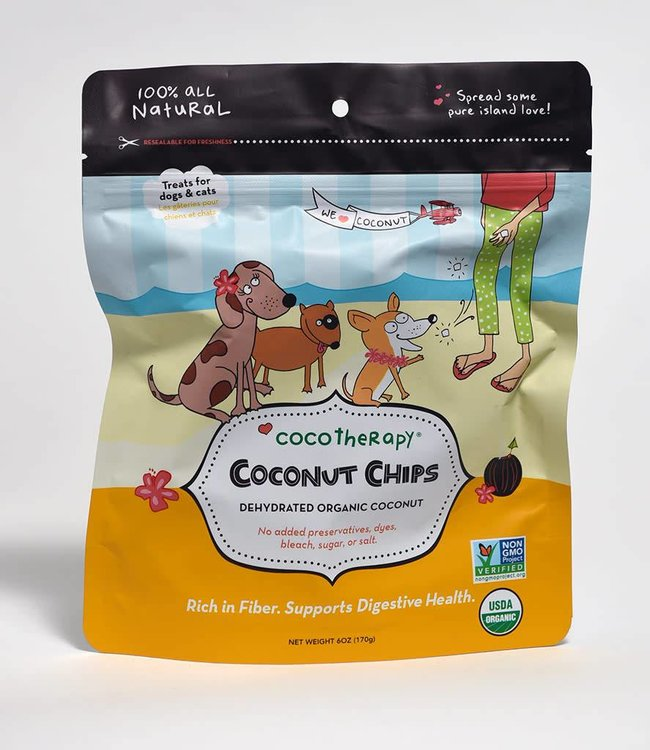 Coco Therapy Coconut Chips 6oz