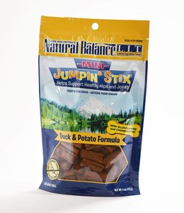 Natural Balance Mini Jumpin Stix Duck & Potato 4oz