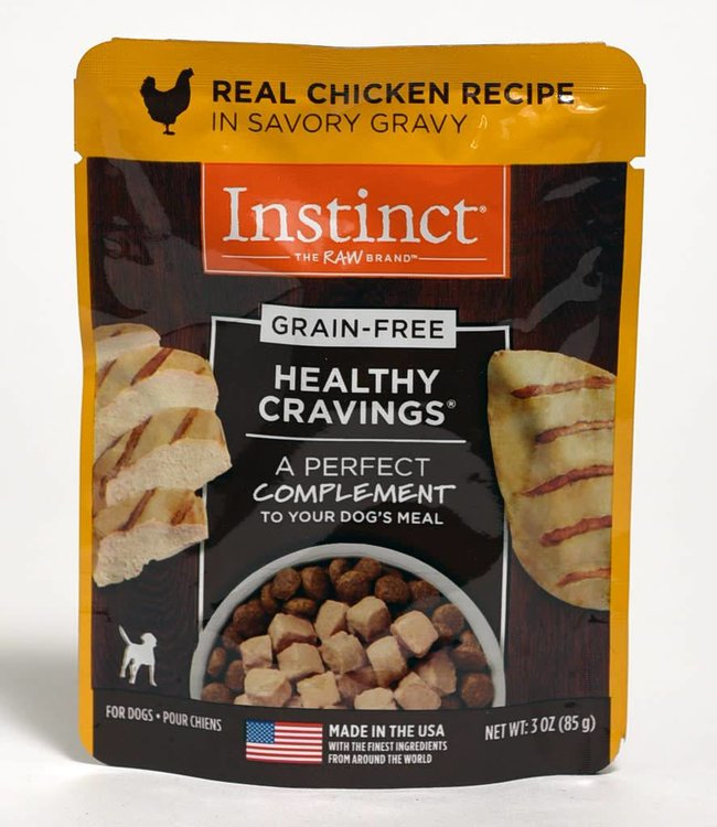Instinct The Raw Brand Healthy Cravings Chicken Pouch 3oz