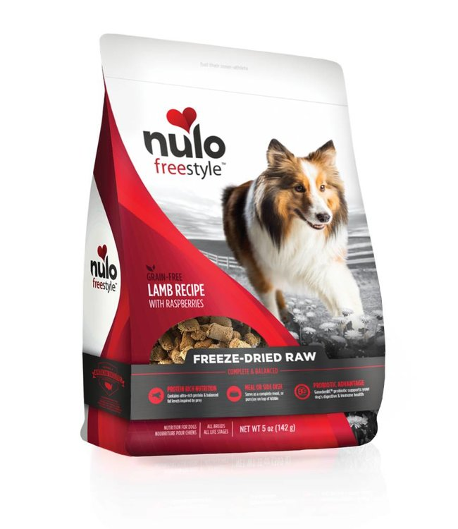 Nulo Lamb Freeze-Dried Raw 5oz