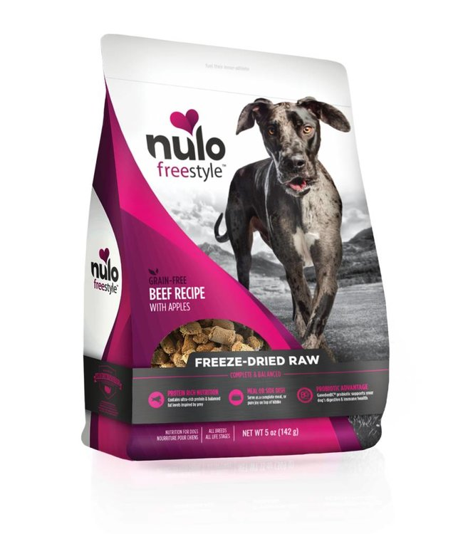 Nulo Beef Freeze-Dried Raw 5oz