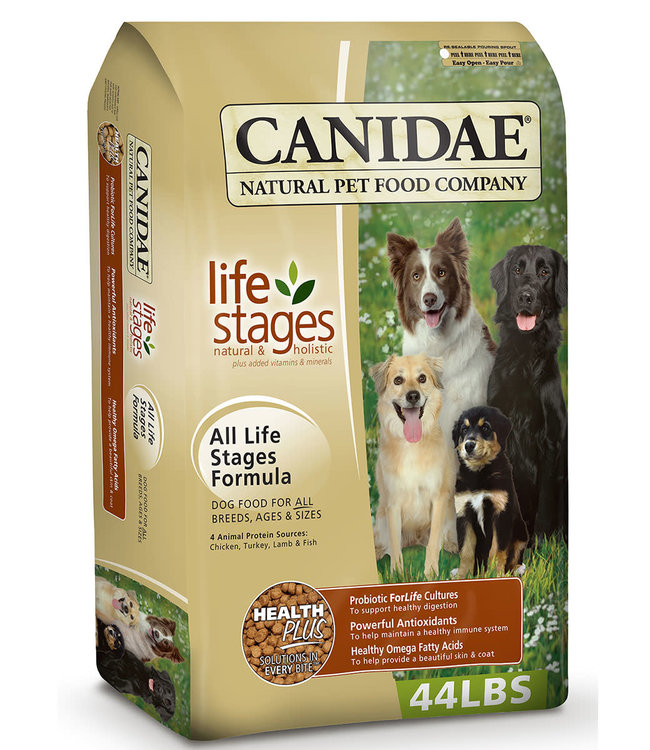 Canidae Dog All Life Stages 44lbs