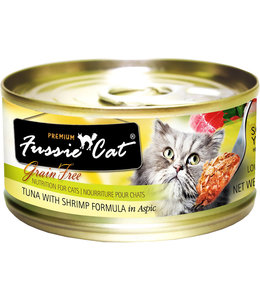 Fussie Cat Tuna With Shrimp Formula 2.82oz