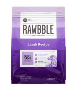 Rawbble Fresh Lamb Recipe 24 lb.