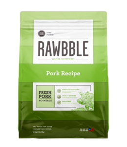 Rawbble Fresh Pork Recipe 24 lb.