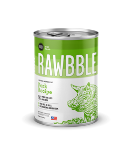 Rawbble Pork Recipe Can 12.5 oz
