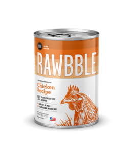 Rawbble Chicken Recipe Can 12.5 oz