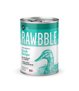 Rawbble Duck Recipe Can 12.5 oz