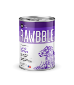 Rawbble Lamb Recipe Can 12.5 oz
