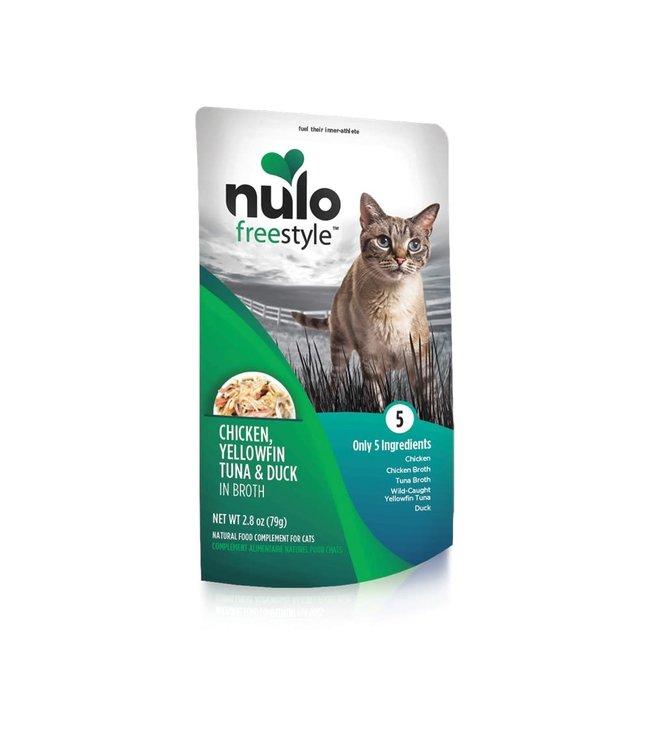 Nulo Chicken, Yellowfin Tuna & Duck Pouch