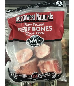 Raw Frozen Beef Bones