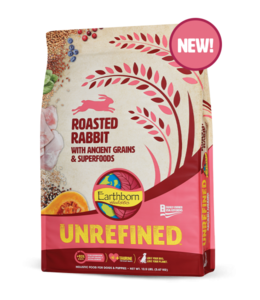 Earthborn Rabbit Unrefined 25 lb.