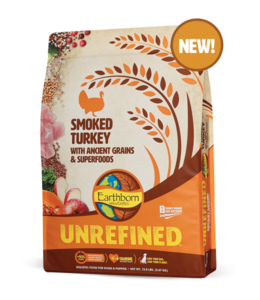Earthborn Turkey Unrefined 25 lb.