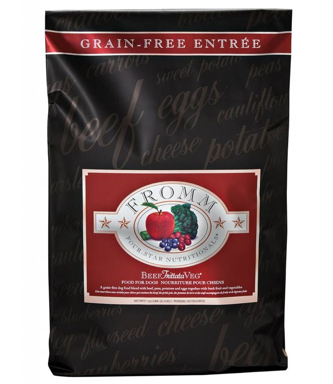 Fromm Fromm Dog Four-Star Beef Frittata Veg Grain-Free 30lbs