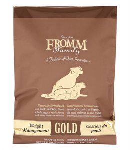 Fromm Dog Gold Weight Management 15lbs